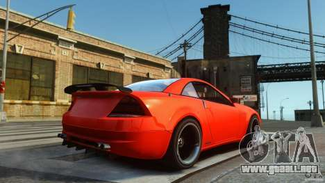 Feltzer DriftTec para GTA 4 Vista posterior izquierda