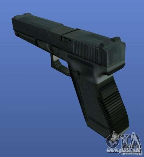 Weapons Retex para GTA 4 adelante de pantalla