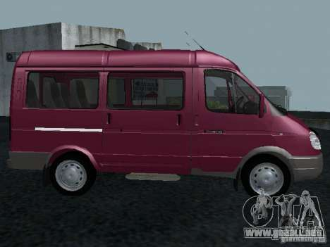 GAZ 2217 Sobol para GTA San Andreas left