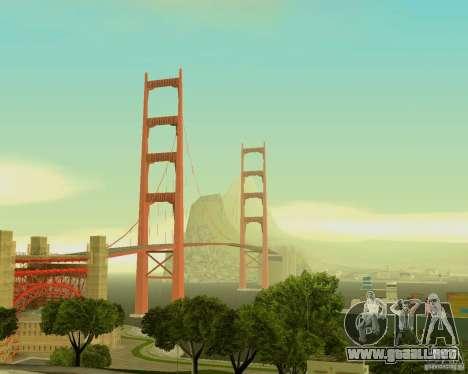 ENB SA: MP para ordenadores portátiles de tamaño para GTA San Andreas