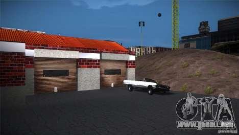 San Fierro Upgrade para GTA San Andreas tercera pantalla