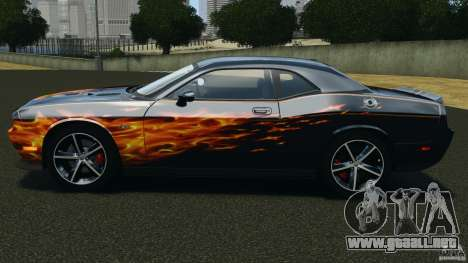 Dodge Challenger SRT8 392 2012 para GTA 4 left