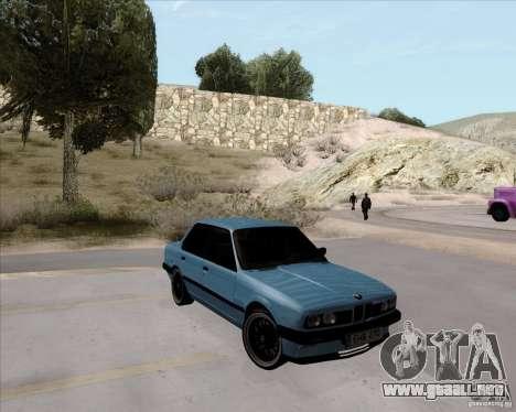 BMW M3 E30 323i street para la visión correcta GTA San Andreas