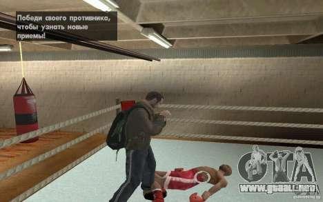 El sistema de combate de GTA IV V 3.0 para GTA San Andreas sucesivamente de pantalla