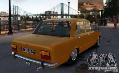 Fiat 124 para GTA 4 left