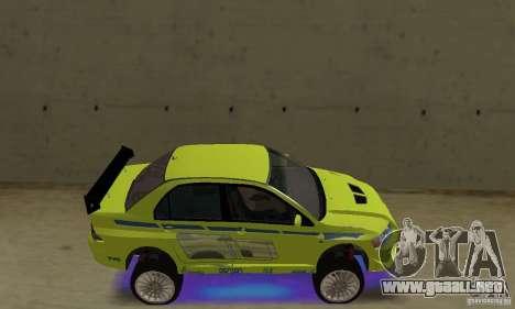 Luces de neón azules mejoradas para GTA San Andreas segunda pantalla