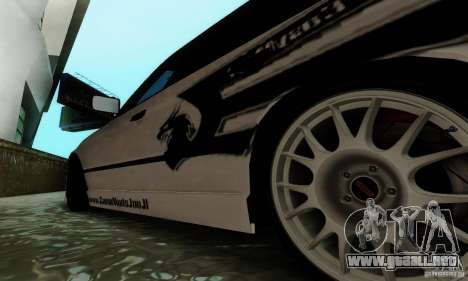 BMW E34 540i Tunable para la vista superior GTA San Andreas