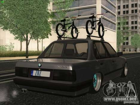 BMW E30 Rat para GTA San Andreas left