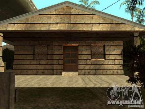 Casas Retekstur en la calle de surco para GTA San Andreas segunda pantalla
