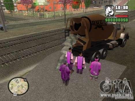 Chement para GTA San Andreas segunda pantalla
