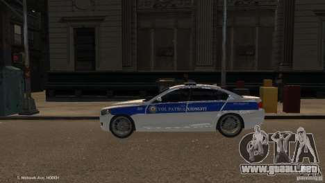 BMW 550i Azeri Police YPX para GTA 4 left