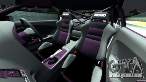 Toyota Supra Top Secret para GTA 4 vista interior