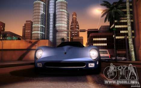 Ferrari 250 GTO 1964 para GTA San Andreas vista hacia atrás