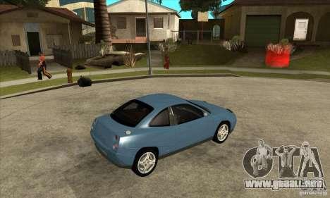 Fiat Coupe - Stock para la visión correcta GTA San Andreas