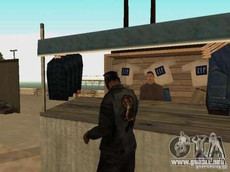 Mercado en la playa para GTA San Andreas twelth pantalla
