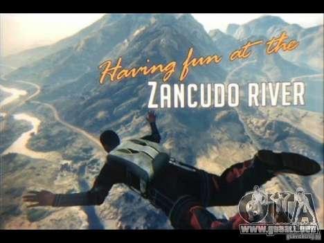 Videoskrinšoty de GTA V para GTA San Andreas segunda pantalla
