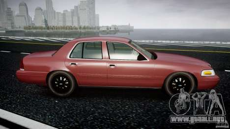 Ford Crown Victoria 2003 v.2 Civil para GTA 4 vista interior