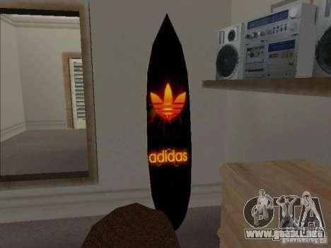 Surf nuevo en la casa de CJ para GTA San Andreas