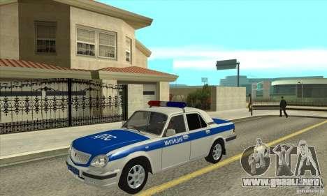 GAZ 31105 Volga DPS para GTA San Andreas