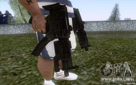 Brazos de F.E.A.R. para GTA San Andreas tercera pantalla