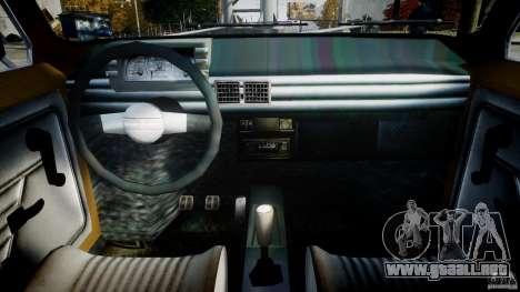 Fiat 126p 1976 para GTA 4 visión correcta