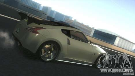 Nissan 370Z Drift 2009 V1.0 para GTA San Andreas left