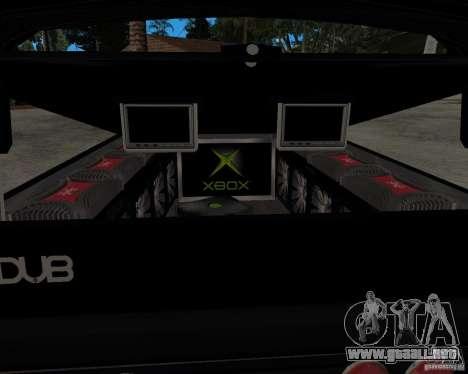 Chevrolet Silverado 1996 Lowrider para la visión correcta GTA San Andreas