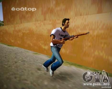 Mosin-Nagant para GTA Vice City segunda pantalla