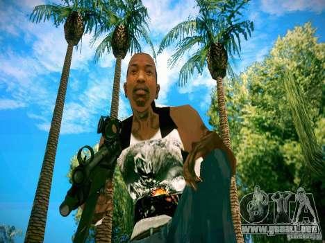 Armas Pack HD para GTA San Andreas octavo de pantalla
