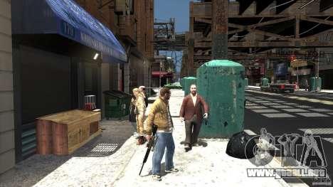 PSG1 (Heckler & Koch) para GTA 4 segundos de pantalla