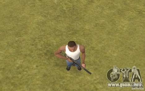 Máquina especial del eje para GTA San Andreas quinta pantalla