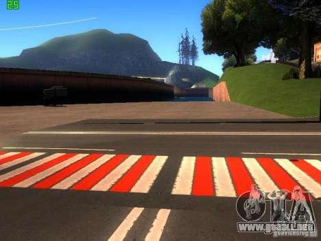 Roads Moscow para GTA San Andreas quinta pantalla