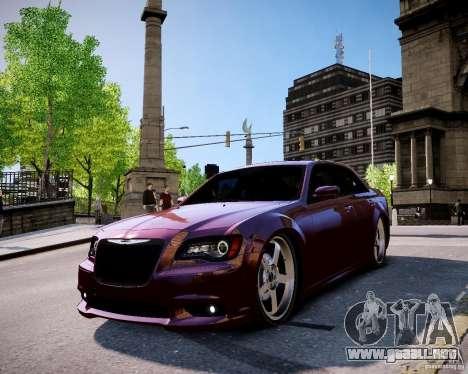 Chrysler 300 SRT8 DUB 2012 para GTA 4 visión correcta