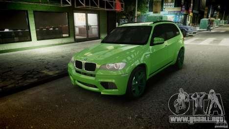 BMW X5 M-Power wheels V-spoke para GTA 4 interior