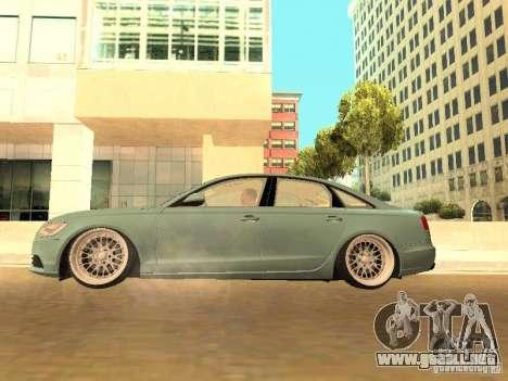 Audi A6 Stanced para visión interna GTA San Andreas