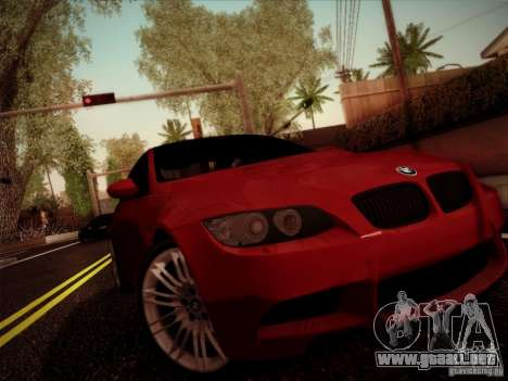 BMW E92 v2 Updated para GTA San Andreas left
