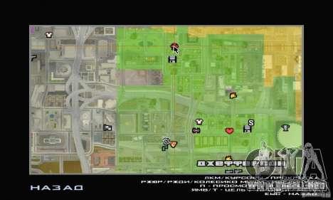Tienda de ADIDAS para GTA San Andreas sucesivamente de pantalla