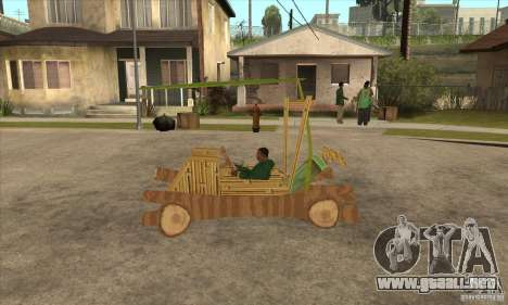 New Police Madagascar para GTA San Andreas left