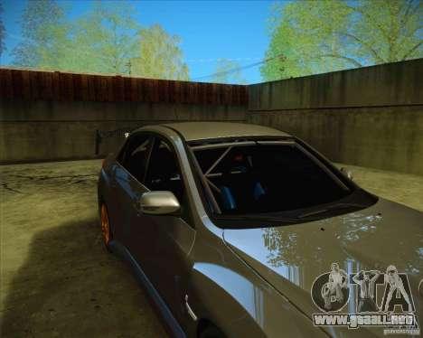 Subaru Impreza WRX STI 2011 para el motor de GTA San Andreas