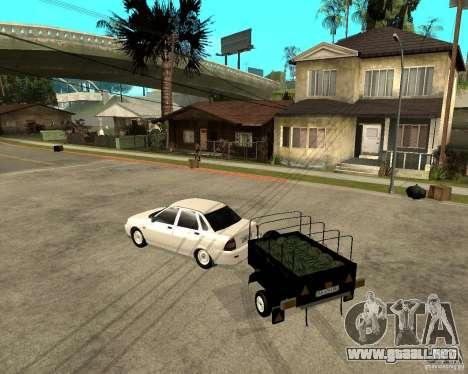 2170 LADA Priora luz tuning y remolque para GTA San Andreas left