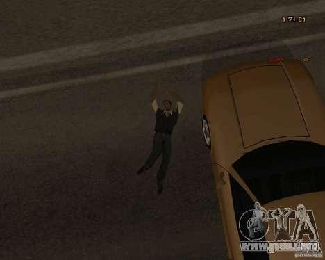 Nuevas animaciones para GTA San Andreas sexta pantalla