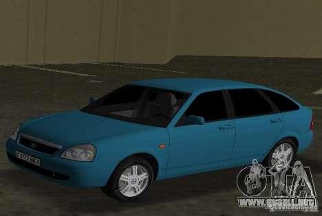 Lada Priora Hatchback para GTA Vice City left