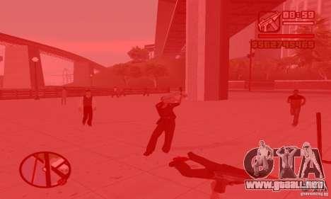 Reencarnación en un habitante de la ciudad para GTA San Andreas segunda pantalla