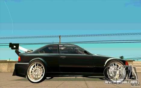 NFS:MW Wheel Pack para GTA San Andreas sexta pantalla