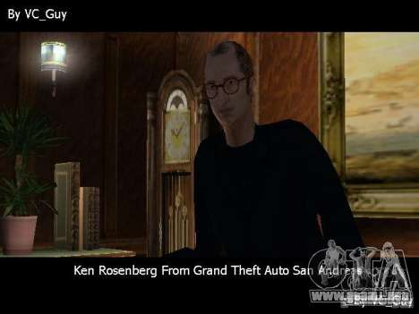 SA Characters para GTA Vice City segunda pantalla