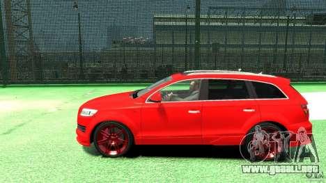 Audi Q7 v12 TDI para GTA 4 left