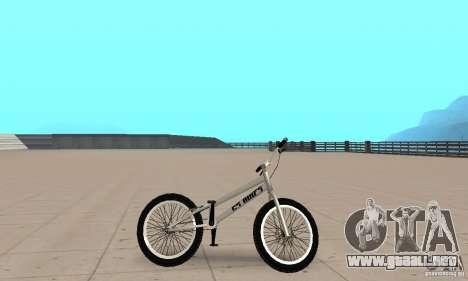 Bicicletas BMX de CS para GTA San Andreas vista posterior izquierda