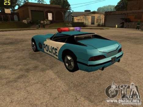 Banshee Police San Andreas para GTA San Andreas left