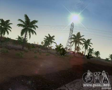 HQ Country N2 Desert para GTA San Andreas tercera pantalla