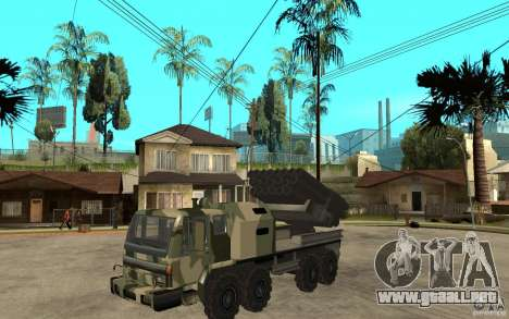 Missile Launcher Truck para GTA San Andreas